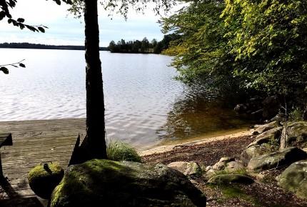 Ferienhaus Schweden mit Badestrand