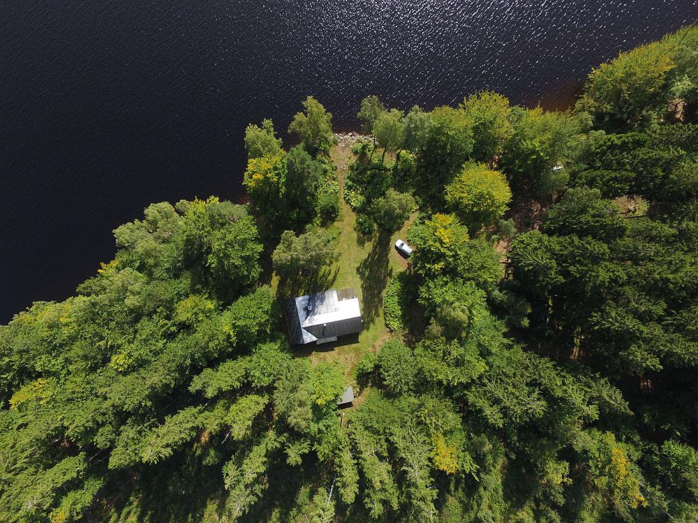 Das Ferienhaus im Naturreservat Fegensee