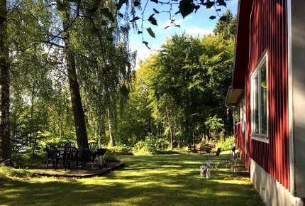 Entspannung Garten Ferienhaus Schweden