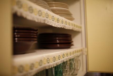 Geschirr vorhanden im Ferienhaus