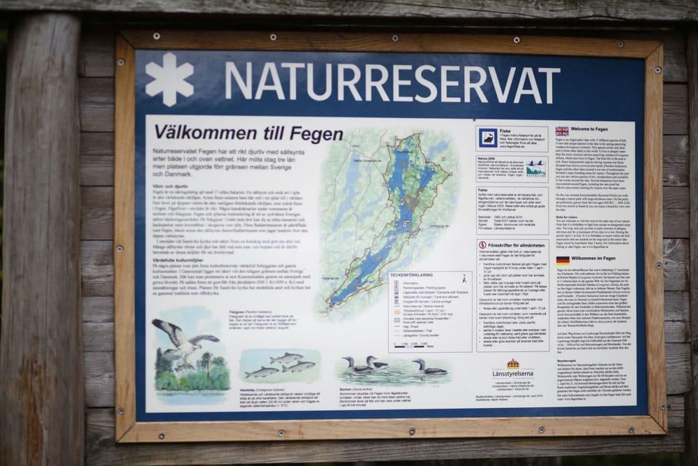 Naturreservat Fegen See